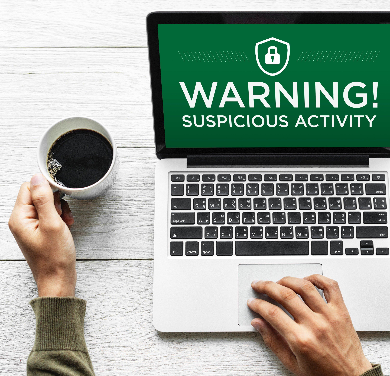 Warning-Suspicious-Activity